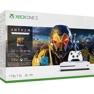 Microsoft Xbox One S 1TB – Anthem Bundle inkl. Anthem: Legion of Dawn Edition