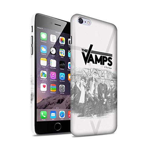 Offiziell The Vamps Hülle / Matte Snap-On Case für Apple iPhone 6+/Plus 5.5 / Pack 6pcs Muster / The Vamps Fotoshoot Kollektion Skizzieren