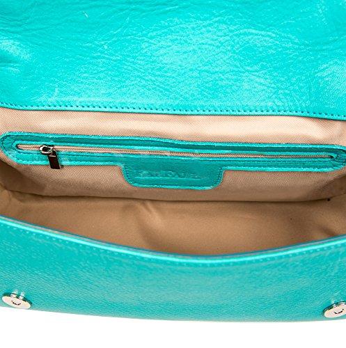 Moda donna, borse a tracolla da farfalla bianco per donne Turquoise