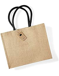 Westford Mill Classic Jute Shopper Bag