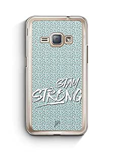 YuBingo Stay Strong Designer Mobile Case Back Cover for Samsung Galaxy J1 2016
