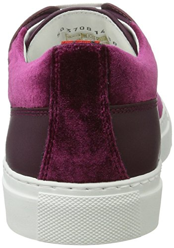 Hugo Corynna-Vt 10199306 01, Sneakers Basses Femme Rouge (Dark Red)