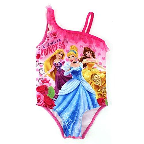 Kleinkind M?dchen ich bin eine Prinzessin Bademode ein St¨¹ck rosa 2 t