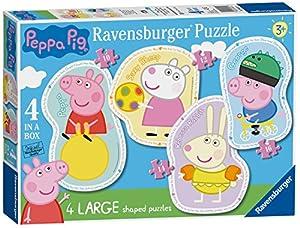 Ravensburger Peppa Pig 4 Puzzles de Sierra Grandes (10,12,14,16pc)