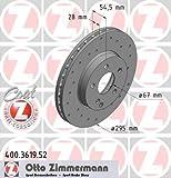 Bremsscheibe SPORT-BREMSSCHEIBE COAT Z - Zimmermann 400.3619.52