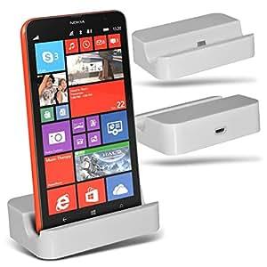 Spyrox (White)Nokia Lumia 1320 Micro USB de charge de bureau Dock Mount Stand