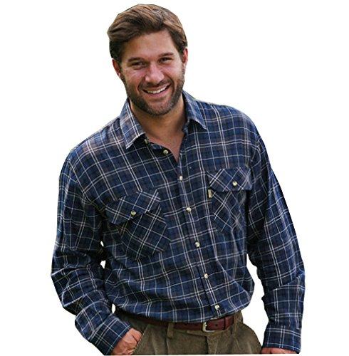 Preisvergleich Produktbild Champion Herren Kilbeggan Country Style-Langarm Shirt Freizeit, kariert