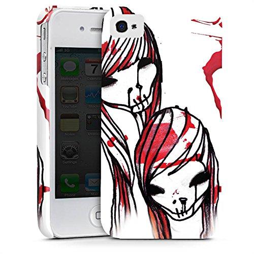 Apple iPhone X Silikon Hülle Case Schutzhülle DeadHoxtonGirls Gloria blutig Premium Case glänzend