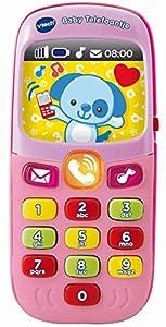 VTech Baby Telefoontje Roze Chica - Juegos educativos (Rosa, Chica, 3 año(s), Holandés, De plástico, CE)