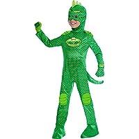 Disfraz de Gekko para máscaras PJ de Childrens Size Deluxe Medium (5-6 years)