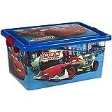 ColorBaby - Caja ordenación 13 litros, diseño cars (76610)
