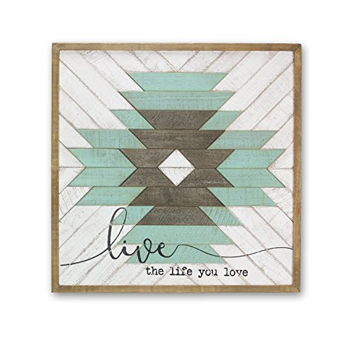 Live-zeichen (Young 's Live the Life You Love Holz Art Wand Zeichen, 76,2 x 3,2 x 76,2 cm)