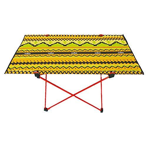 LIPAI Table Pliante LumièRe ExtéRieure Oxford Aluminium Table Pliante en Aluminium Table De PêChe Pique-Nique Barbecue77 * 42 * 40cm