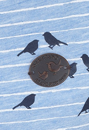 Naketano Female Shortsleeve Wolle Spatzl VII Amazing Blue Melange