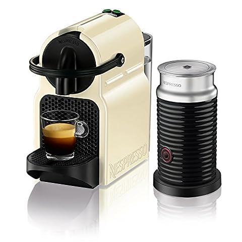 Delonghi en 80. cwae Nespresso Inissia Vanilla Cream Plus aerocc Hino Mousseur à lait