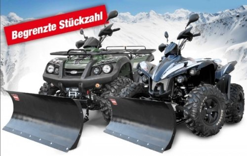 TGB Blade 550 4x4 IRS LOF Winter Edition mit Schneeschild, Farben:Grün