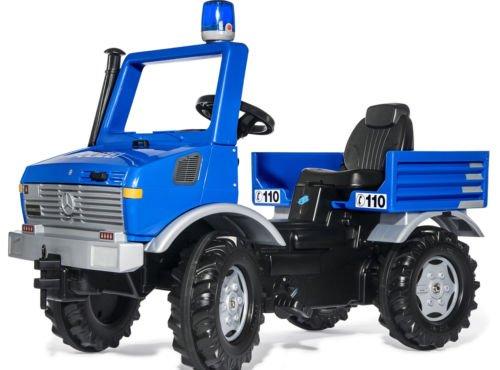 Rolly Unimog Polizei mit Blaulicht u. Flüsterreifen ab 3 Jahren
