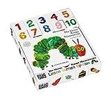 Die kleine Raupe Nimmersatt: Pappbilderbuch mit Lern-Spiel-Würfeln im Set