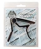 Fire&Stone 530397 Capodastre en aluminium D-Style pour Guitare classique Noir