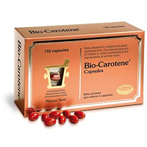 51vprZ7umoL. SS300  - Pharma Nord Bio Carotene 150 Capsules