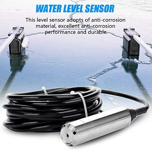 Füllstandssensor, Einwurf Art Wasserspiegel-Sensor-Übermittler Niveausensor nimmt vom rostfesten Material, von der ausgezeichneten Antikorrosionsleistung und vom langlebigen Gut an,DC24V 4-20mA -