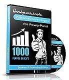 1000 Handgezeichnete Präsentationsvorlagen für PowerPoint -: Business & Marketing Edition für PC & Mac