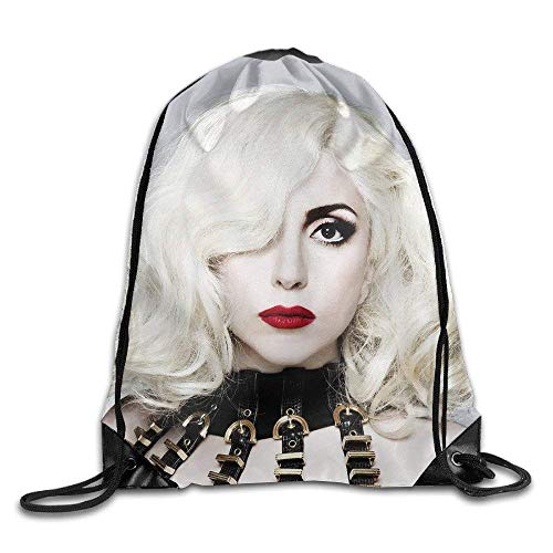 shuangshao liu Lady Gaga Poster Rucksack mit KordelzugSack Tasche
