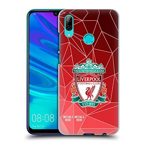 Head Case Designs Personalisierte Individuelle Liverpool Football Club Geometrisch 2018/19 Harte Rueckseiten Huelle kompatibel mit Huawei P Smart (2019)