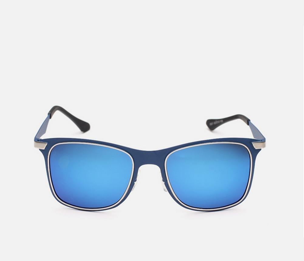 DZW Nouveaux hommes et femmes de mode lunettes de soleil polarisées , blue