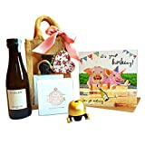 Mini Prosecco Birthday Treat Bag & Card: Prosecco,...