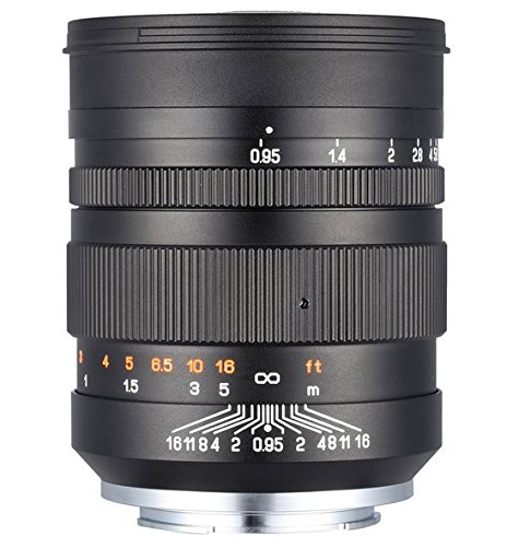GOWE 85mm F1.2135Full Frame lente de la cámara focal fija para Canon EF Nikon F montura Pentax K Mount SLR cámaras