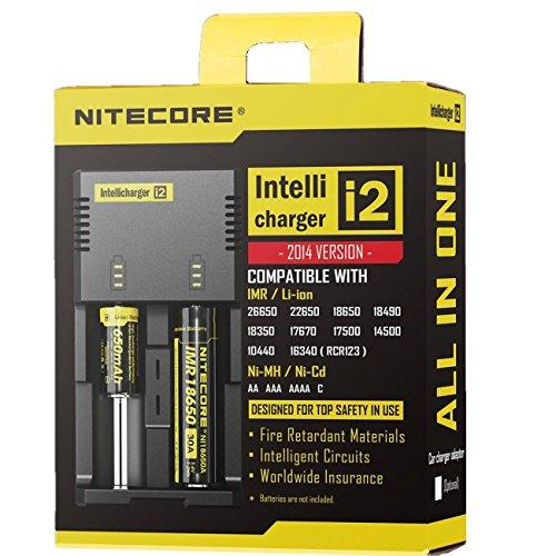 NiteCore NC i2 Version 2014 Intellicharge Akku Ladestation
