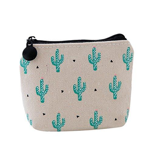Hosaire Grande Caja de Escritorio Estuches Lápices Bolsa de Lápices Plumas Bolígrafos Material Lona para Escolar Papelería Escuela/Sonrisa de cactus