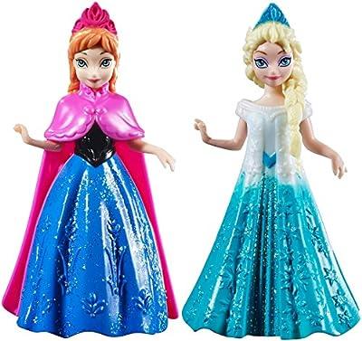 Disney Frozen 4 Anna & Elsa Figure Collection Pair Of Dolls by Disney Frozen por Disney Frozen