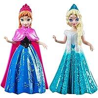 "Disney Frozen 4"" Anna & Elsa Figure Collection Pair Of Dolls"