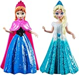 B01ETJ4RWY Disney Frozen 4 'Anna & Elsa Figure Collection Coppia di Bambole