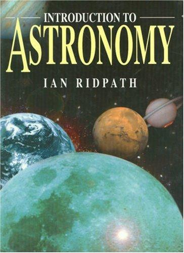 Astronomy por Ian Ridpath