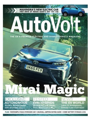 Autovolt May-Jun 2016: The Electric & Hybrid Vehicle Magazine: Volume 12