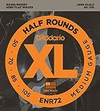 D'Addario ENR72 Bass XL Nickel Saitensatz 0,13 - 0,27 cm (.050 -.105 Zoll)