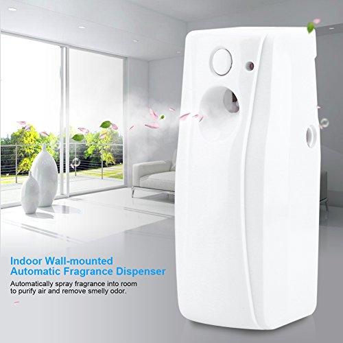 Automatischer Duftspender,Automatischer Aerosolspender Lufterfrischer Spender Automatischer Licht Sensor Parfüm Spray Maschinen Aerosol Spender Wandmontage,für Badezimmer, Toiletten, Hotels usw