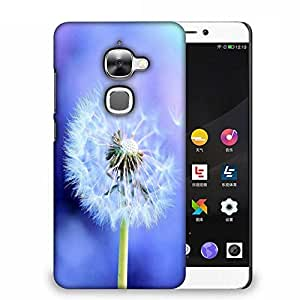 Snoogg White Dandelions Designer Protective Back Case Cover For Samsung Galaxy J1