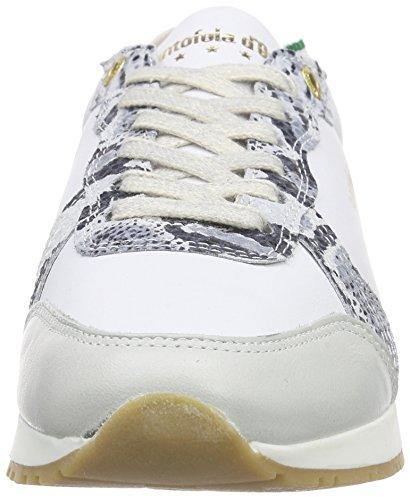 Pantofola d'Oro Teramo, Baskets Basses femme Ivoire - Elfenbein (MARSHMELLOW)