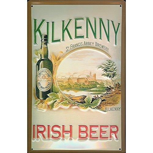 Kilkenny Brewery Irlandese Birra Bevande Bar Pub Annuncio 3D Metallo/Targa Da Parete In Acciaio - 30 x 20 cm