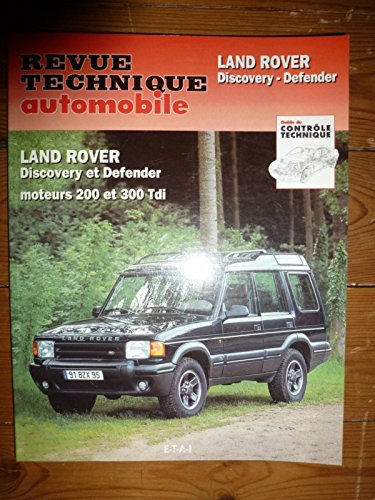 RRTA0564.2 – REVUE TECHNIQUE AUTOMOBILE LAND ROVER DEFENDER et DISCOVERY 200 et 300 TDI