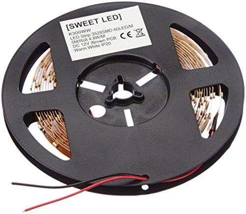 sweet led® SMD Strip LED Band, Leiste 5m, warmweiss, 300 LEDs