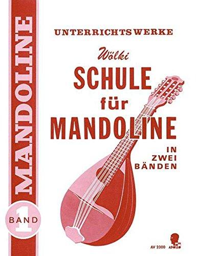 Schule für Mandoline, Band 1