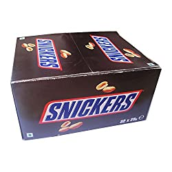 Snickers Chocolate Box - 32 Pcs