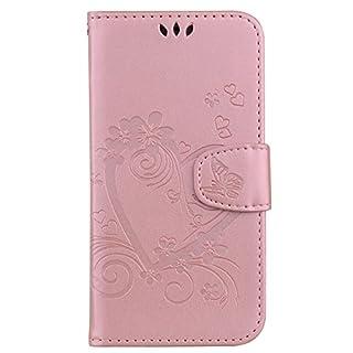 Schutzhülle für Samsung Galaxy, Designer-Stil, Klappetui, Kartenfächer, Standfunktion Hülle mit Ständer Samsung Galaxy S8 color twelve