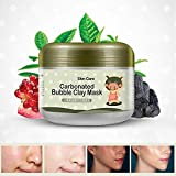 AJUMKER Carbonated Bubble Clay Mascarilla Oxígeno Barro Hidratante Limpieza profunda Blanqueamiento Hidratante Mascarilla Cuidado de la cara 100g