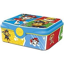 Box Colazione Paw Patrol DECOR Scatola Spuntino Lunchbox Portamerenda Porta SANDWICH Bambini Scuola